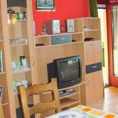 TV-Wand im Wohnzimmer